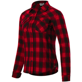 Protective P-Rockabilly Longsleeve Shirt Women, attack red